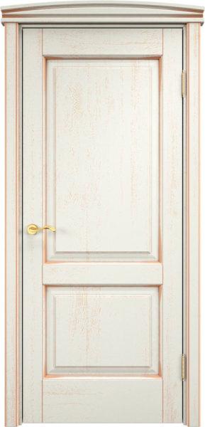 Дверь из массива дуба ПМЦ Д13 f120 патина золото