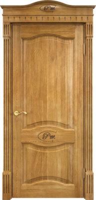 Дверь из массива дуба ПМЦ Д3 орех 5%