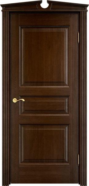 Дверь из массива дуба ПМЦ Д5 моренный дуб