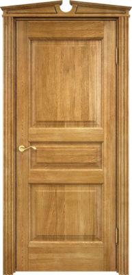 Дверь из массива дуба ПМЦ Д5 орех 5%