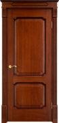 Дверь из массива дуба ПМЦ Д7-2 коньяк патина
