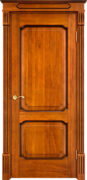 Дверь из массива дуба ПМЦ Д7-2 моренный дуб патина орех