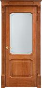 Дверь из массива дуба ПМЦ Д7-2 ПО орех 10%