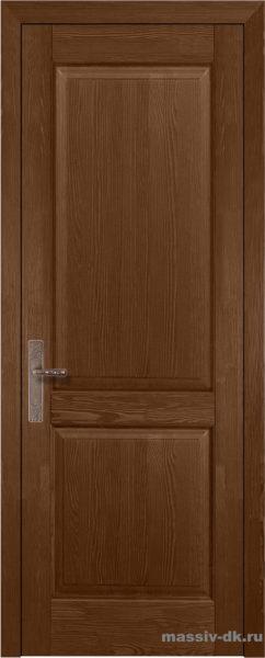 Дверь из массива сосны Элегия орех