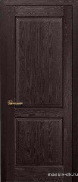 Дверь из массива сосны Элегия венге