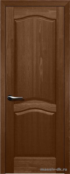 Дверь из массива сосны Лео орех