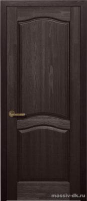 Дверь из массива сосны Лео венге