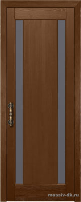 Дверь из массива сосны Милан орех