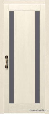 Дверь из массива сосны Милан слоновая кость