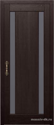 Дверь из массива сосны Милан венге