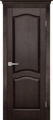 Дверь из массива ольхи Лео ОКА венге