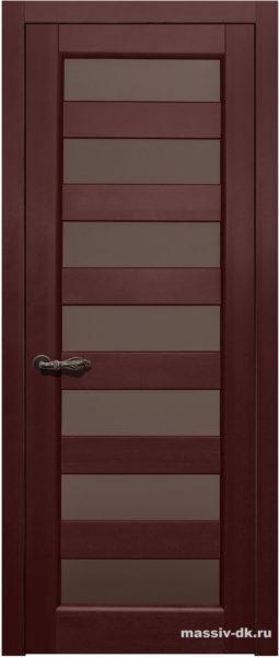 Дверь из массива ольхи Премьер Плюс ПО ОКА махагон