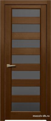 Дверь из массива ольхи Премьер Плюс ПО ОКА орех