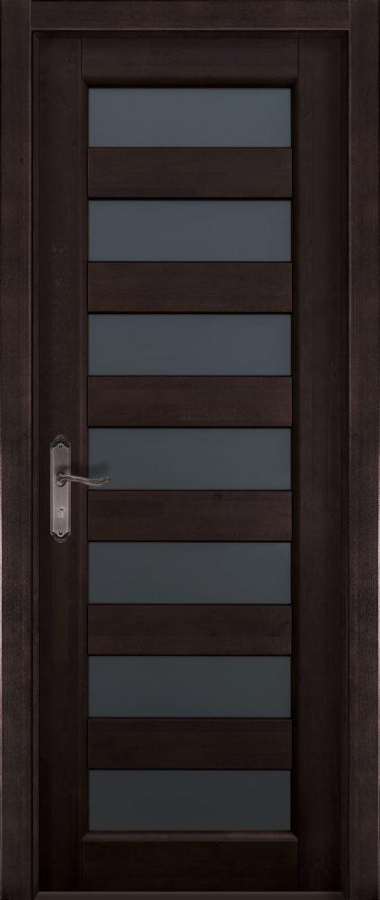 Дверь из массива ольхи Премьер Плюс ПО ОКА венге