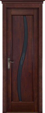 Дверь из массива ольхи Соло ОКА орех