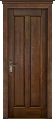 Дверь из массива ольхи Сорренто ОКА орех