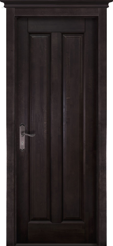 Дверь из массива ольхи Сорренто ОКА венге