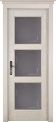 Дверь из массива ольхи Турин ПО ОКА слоновая кость