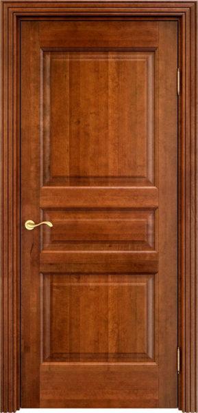 Дверь из массива ольхи Ол5 коньяк