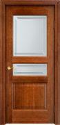 Дверь из массива ольхи Ол5 ПО коньяк