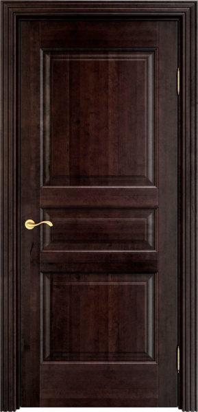 Дверь из массива ольхи Ол5 венге