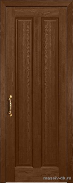 Дверь из массива сосны Сорренто орех