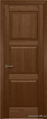 Дверь из массива сосны Турин орех