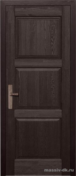 Дверь из массива сосны Турин венге