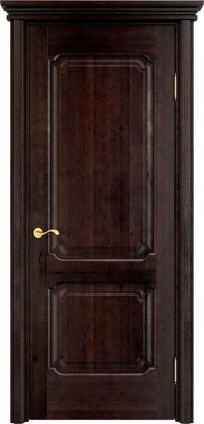 Дверь из массива ольхи Ол7 венге