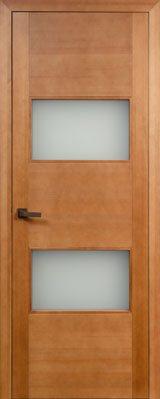 Дверь из массива Хай Тек 77 ДГФ/ДОФ орех 10%
