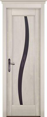 Дверь из массива ольхи Соло слоновая кость