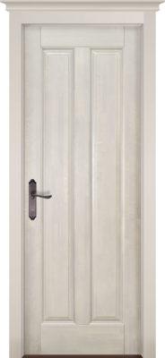 Дверь из массива ольхи Сорренто слоновая кость