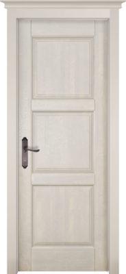 Дверь из массива ольхи Турин слоновая кость