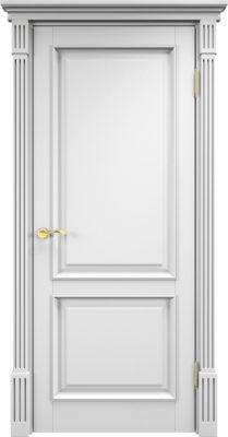 Дверь из массива сосны 112Ш ДГФ белая эмаль