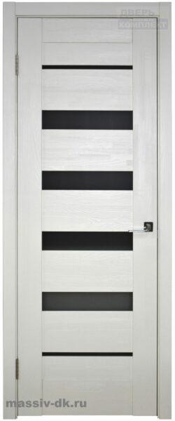 Двери ока массив сосны Альта белая эмаль