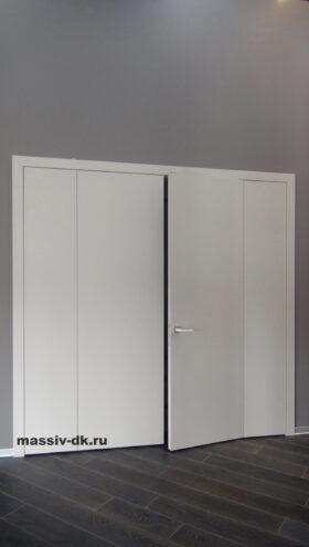 Классическая система открывания дверей. Вид спереди
