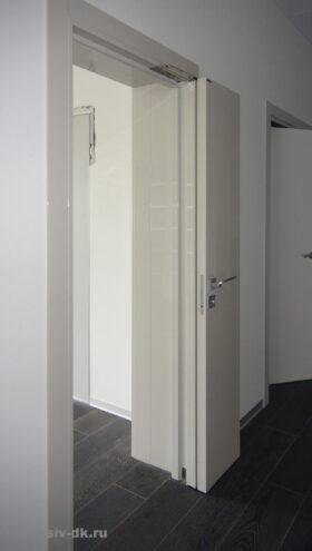 Cистема открывания дверей Компакт. Вид слева