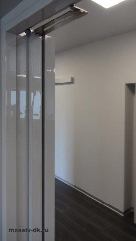 Cистема открывания дверей Компакт. Вид сбоку