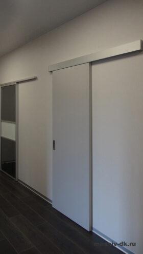 Cистема открывания дверей Купе. В закрытом состоянии