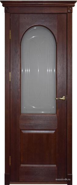 Дверь из массива дуба Чезана ОКА КД