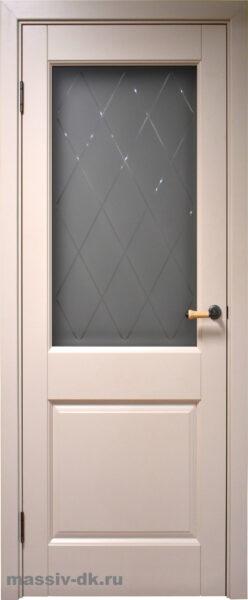 Двери ока массив ольхи Элегия ПО эмаль крем
