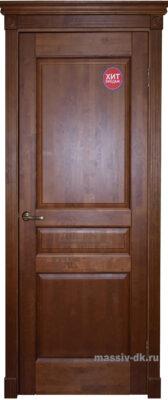 Двери ока массив ольхи Валеньсия ПГ орех