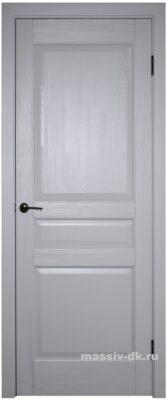 Двери ока массив сосны эмаль Валенсия грей