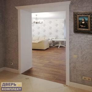 двери эмаль белая в интерьере