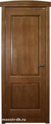 Дверь из массива дуба ПМЦ Д13 орех 10%