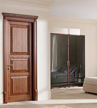 Двери из массива дуба