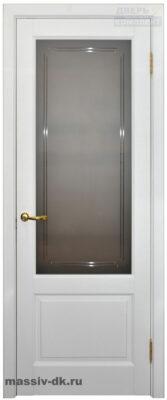Двери массив ольхи классик1 белая