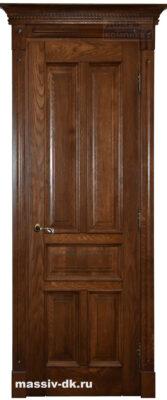 Двери из массива с притвором Сивилья тропикано