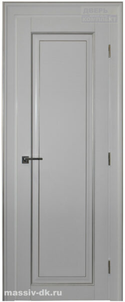 Двери из массива с притвором Виолета белая