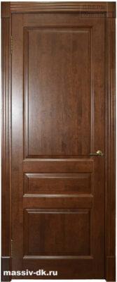 Двери из массива ольхи классик3 коньяк